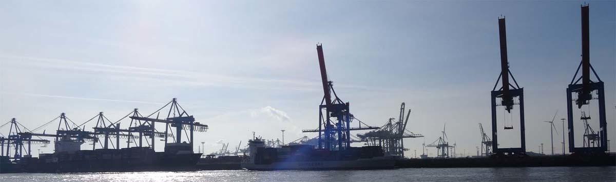 Hamburger Hafenkräne